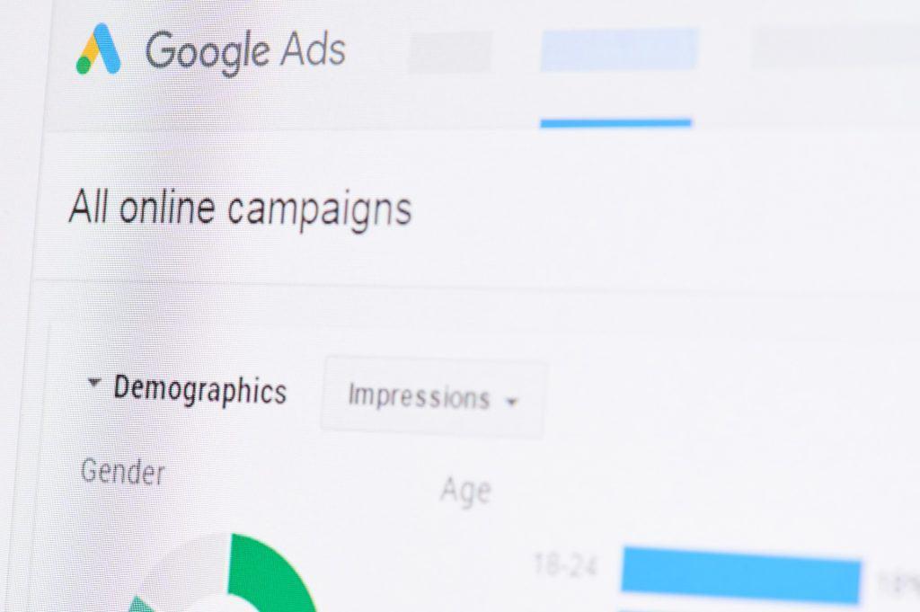Google Ads, fer de lance des Campagnes publicitaires en ligne