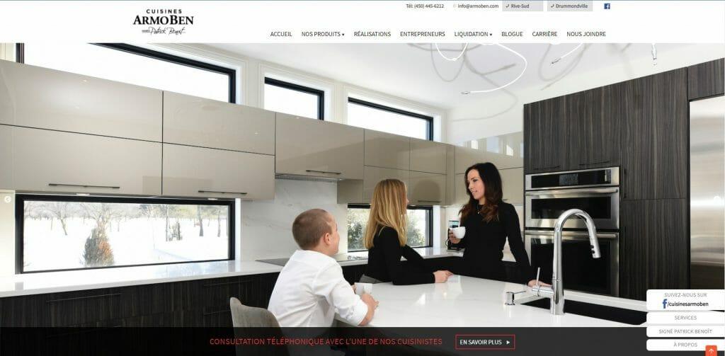 Cuisines Armoben fabricants de cuisine, armoires de cuisine et salles de bain