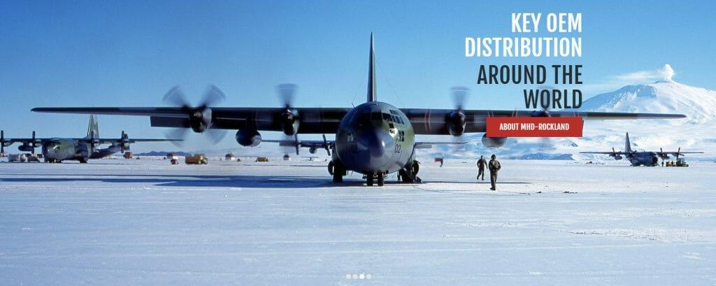 MHD Rockland, entretien et réparation de pièces d'avions militaires