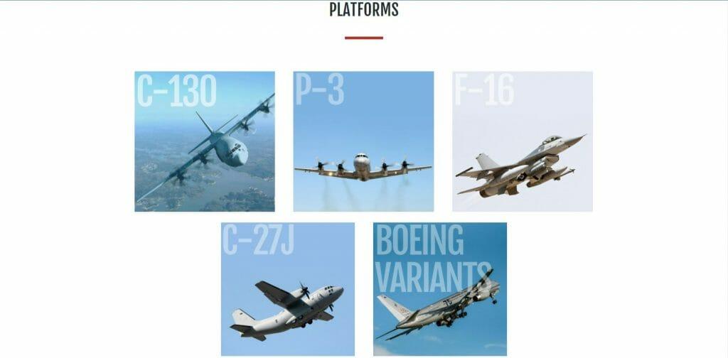 MHD Rockland plateformes de service d'avions militaires