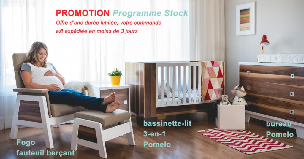 Promotion de mobilier de chambre d'enfants Dutailier