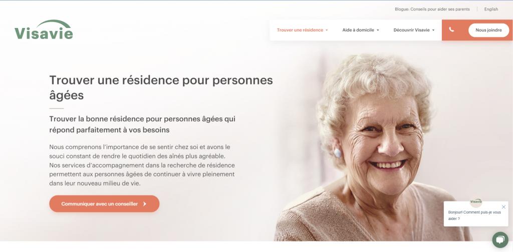 Visavie - conseillers en résidence de personnes âgées